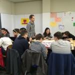 Vorbereitungen in Gruppenarbeit