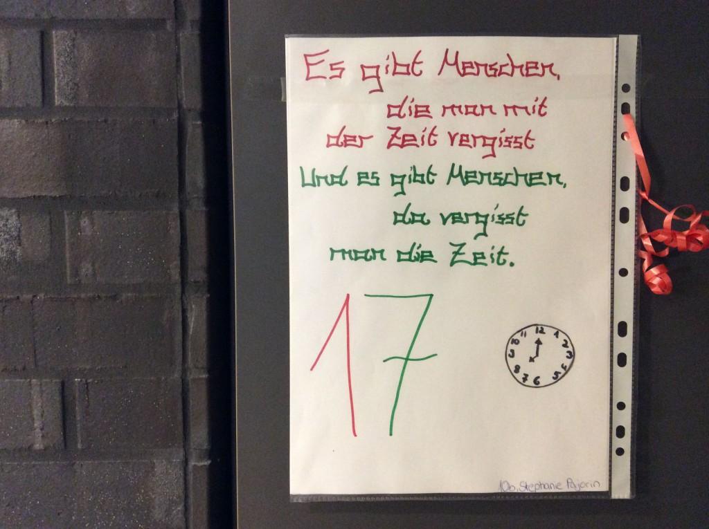 Sprüche Für Weihnachtskalender.Adventskalender Sandhofen Realschule